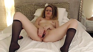 Big Dildo And Heavy Moans